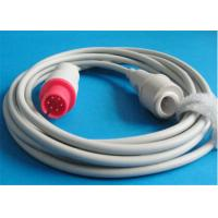 Best AAMI Mindray / Spacelabs Ibp Cable , 6 Pin Connector Blood Pressure Cable wholesale