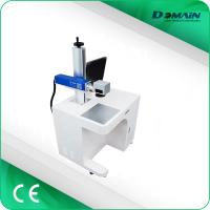 Best Desktop Fiber Laser Marking Machine / Laser Writing Machine Compact Design wholesale