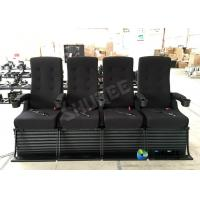 Best 120 People Customize 4D Imax Movie Theater With Snow , Smoke Bubble Special Effect wholesale