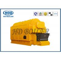 Best Industrial Coal / Wood Fired Biomass Fuel Boiler , Wood Chip Steam Boiler wholesale
