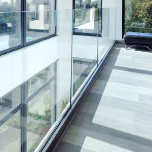 Cheap Aluminium Glass Channel Aluminum Profile Aluminum Extrusion Profile for Glass Railing for sale