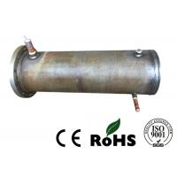 China Precision Air Cooled Condenser , Tube And Tube Heat Exchanger For Refrigeration Unit on sale