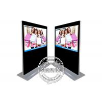 China 65inch Landscape Advertising Screen, Ultra Wide Screen Standee, Wifi Freestanding Digital Signage on sale