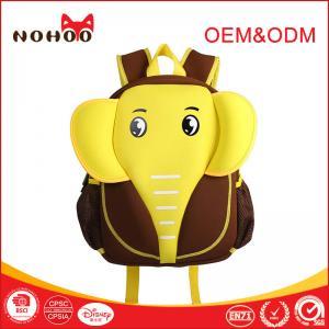 Best Eco Friendly Children School Bag For Kids , Animal Printing Cartoon Personalized School Backpacks wholesale