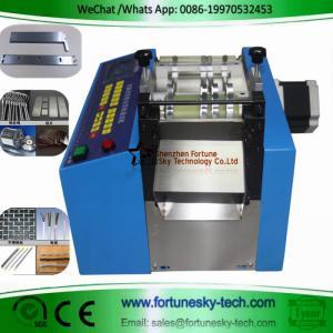 Best Stepper Motor Fully Automatic Wire Clutch Cutting Machine Aluminum Copper Plate PV Ribbon Electric Wire Cutting Machine wholesale