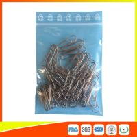 Best Zip Seal Plastic Packing Ziplock Bags Resealable With Symbol Ree Line On The Flap wholesale