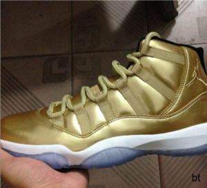 Best koonba.com provide Nike Air Jordan 11 Golden Shoe low price wholesale