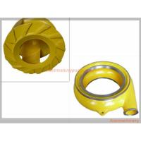 Best Red Yellow Color Horizontal Slurry Pump Parts Of Centrifugal Pump Long Lifespan wholesale
