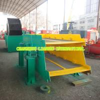 China Mobile High Frequency Vibrating Screen , High Efficiency Aggregate Screening Equipment on sale
