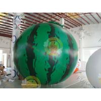 Cheap Inflatable product balloon, 4m Watermelon 0.28mm helium quality PVC Advertising for sale