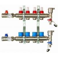 China manifold with flow meter for under floor heating system on sale