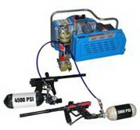 Best 3.0kw 4hp electric powered scuba air compressor , 20 minutes for 6L tank wholesale