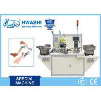 Best CE Electrical Parts Automatic Assembly And Welding Machine With Vibration Plate wholesale