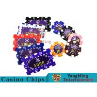 Best Aluminum Dedicated Casino Poker Chip Set With UV Anti - Release Function wholesale