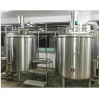 Best 1000Ltr SUS304 Customised Draft Beer Brewing Equipment 15M2 Floor Space wholesale