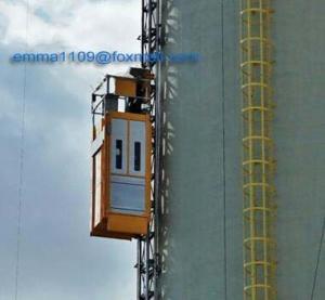 Best SC50 Single Cage Tower Crane Hoist Lifting 500kg Capacity Factory Cost wholesale