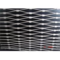 Best Ferrule Type Stainless Steel Wire Rope Mesh / Green Wall Mesh CE Approved wholesale