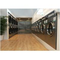 China Hard Mount Industrial Size Washer And Dryer , Commercial Stackable Washer Dryer Coin Operated on sale