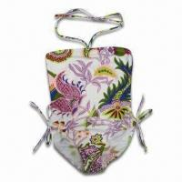 China Girl's Swimsuit, Made of 80% Polyamide and 20% Elasthane, Available in Various Sizes on sale