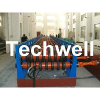 Best 180KW Silo Steel Corrugated Panel Roll Forming Machine For Silo Side Panel TW-SILO wholesale