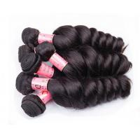 Best Black Women Use Double Virgin Remy Human Hair Weaving / Real Human Hair wholesale