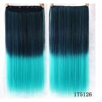 Best No Shedding Synthetic Hair Weave Extensions Machine Made 100 Gram Coloured wholesale