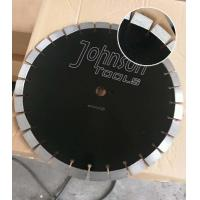 Best 430mm Green Diamond Concrete High HP Floor Saw Blades In Heavy Cutting Operations with Key Slot wholesale