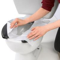 Best Disposable Toilet Tissue Seat Cover Paper for Bathroom Accessories wholesale