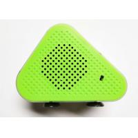 Buy cheap Green 5W * 2 Portable Bluetooth Wireless Speakers Micro USB ABS Fabric A2DP / AVRCP / TF from wholesalers