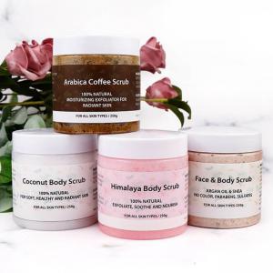 Best 100% Anti Aging Coffee Natural Exfoliating Body Scrub wholesale