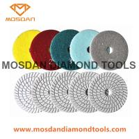 Best 5 Step Flexible Wet Polishing Pads for Marble Terrazzo Granite Limestone wholesale