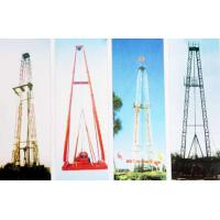 Best Vertical Shaft Core Drilling Rig Mast / Straight And Slanting Drill Tower wholesale