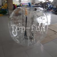 Best No Toxicity large inflatable belly bumper ball , Blue Inflatable Toy bubble bumper balls for kids wholesale