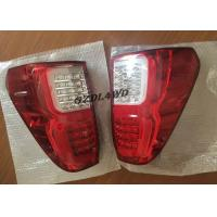 Best Red & Smoke LED Tail Lights Rear Lights 4x4 For Toyota Hilux Revo SR5 2015-2017 wholesale