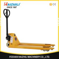 China 2.5 ton 685mm fork width hand hydraulic pallet truck trolley made in China on sale