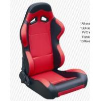 Best Cars Parts Universal Black And Red Racing Seats Foldable With Safety Belts wholesale