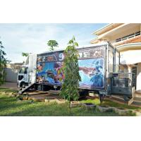 Best 12 Special Effects Motion 5D Mobile Cinema , Outdoor Mobile Truck Cinema Black 6 Seats wholesale