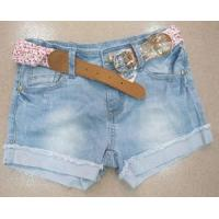 Buy cheap Girls′ Short Jeans (MX-13215) from wholesalers