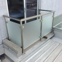 Best Top Grade Stainless Steel Glass Handrail / Terrace Railing / Balcony Stainless Steel Railing wholesale