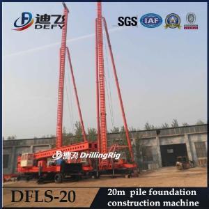 Best Defy Max. 20m Foundation Pile Driver DFLS-20, Construction Machinery Manufacturer wholesale