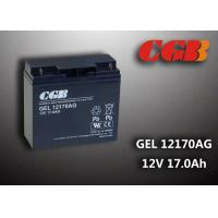 Best GEL12170AG GEL Technical rechargeable lead acid battery 12vdc 17ah For Solar System wholesale