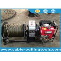 Best 3 Ton Fast Speed Diesel Engine Cable Pulling and Hoisting Winch Machine wholesale