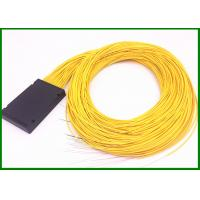 Best 1*64 fiber optic plc splitter  2mm cable in 120*80*18mm box for FTTX project wholesale