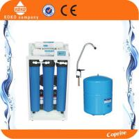 China 20 Inch Blue Home Water Filtration System Reverse Osmosis Tank  With Digital Display / Iron Shelf on sale