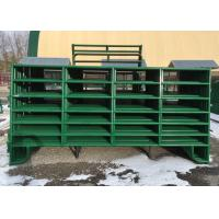Buy cheap 38MM Round Pipe Corral Fence Panel  Panel Size 6X12FT with 6 Rails For Usa Market from wholesalers