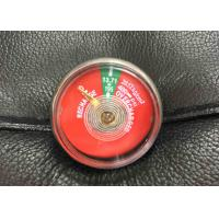 Easy Use Small Fire Extinguisher Parts , JQ0802 Pressure Gauge For Fire Extinguisher