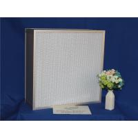 Quality High Efficiency HEPA Furnace Filter Deep Pleat For Cleaning Equipments wholesale