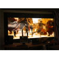 Best 55'' LCD Display Wall , HD LED Screen Indoor For TV Station / Audio Room wholesale