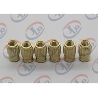 Best Small Machine Parts Plastic Insert Parts Brass Nuts With Blind Via Hole wholesale