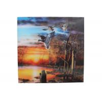 Cheap Frameless 3D Pictures Custom Lenticular Printing PET Printing 40x40cm for sale